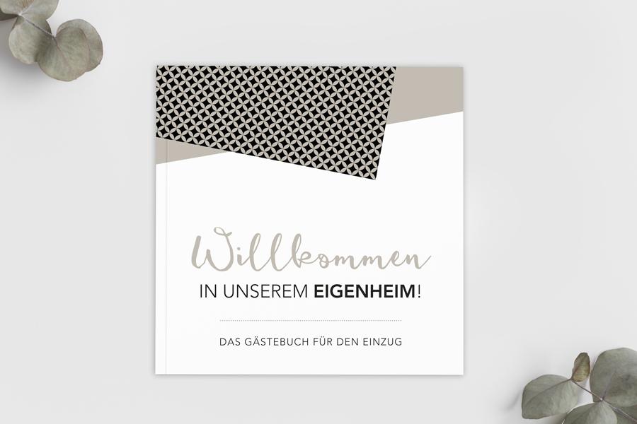Gästebuch für den Einzug / Ausfüllbuch