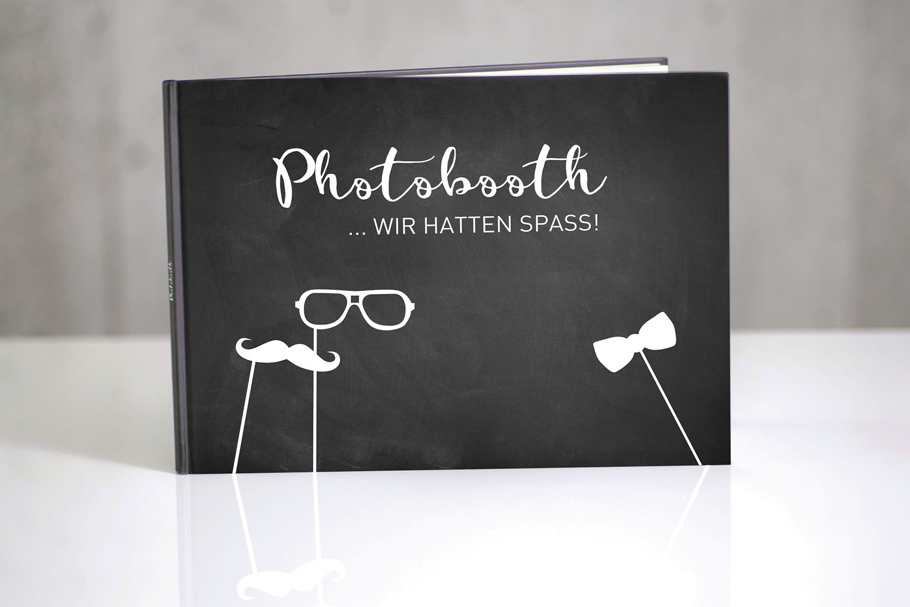 PhotoBooth Album - Kreideoptik
