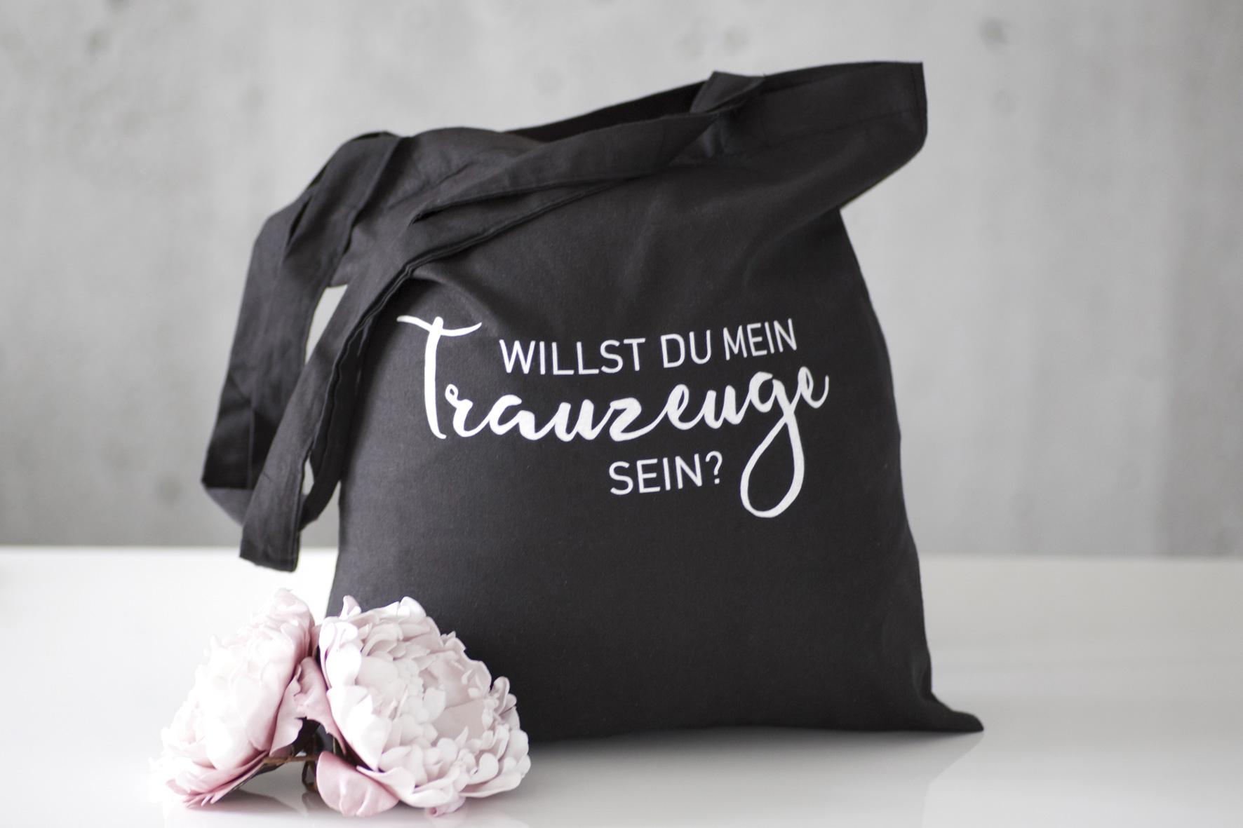 """Tasche Trauzeuge """"Schwarz"""""""