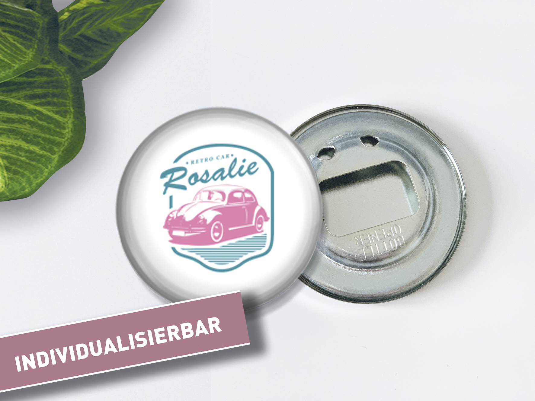 Individueller Flaschenöffner-Krabbler