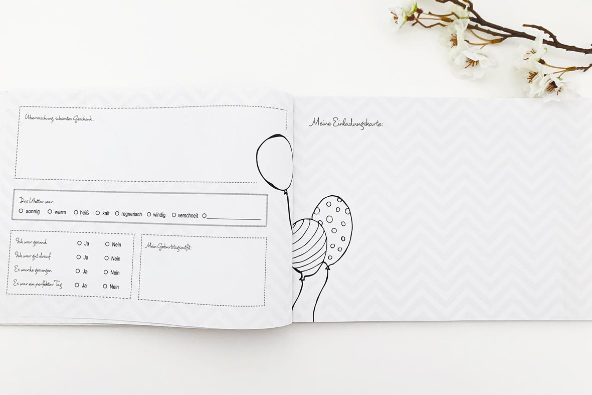 Geburtstags-Erinnerungs-Album (Ausfüllbuch)